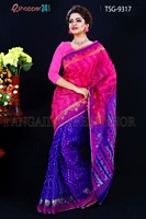 Picture of Moslin Jamdani Saree- TSG-9317