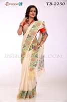 Picture of Cotton Jamdani Saree - TB-2250