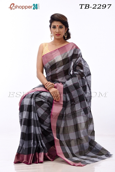 Picture of Pure  Cotton Saree -TB-2297