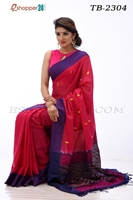 Picture of Soft cotton saree - TB-2304