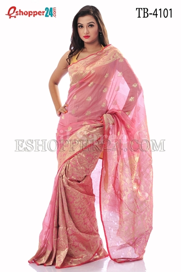 Picture of Half Silk Saree- TB-4101