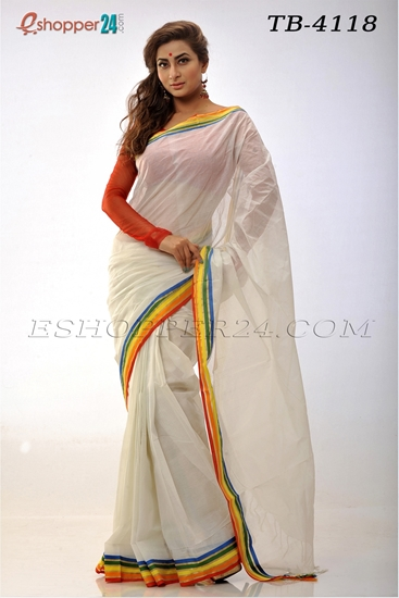 Picture of Cotton Saree -TB-4118
