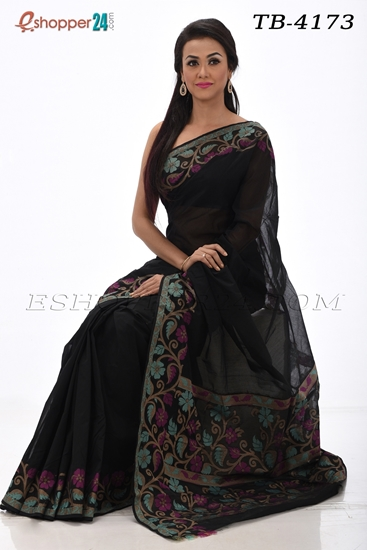 Picture of Half Silk Saree-TB-4173