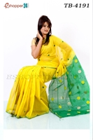 Picture of Handwork Half Silk Saree- TB-4191