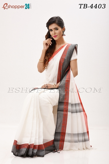 Picture of Pure  Cotton Saree -TB-4403