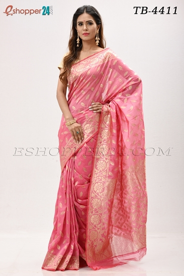 Picture of Half Silk Saree- TB-4411