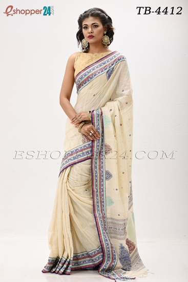 Picture of Andy  Cotton Saree -TB-4412