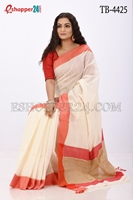 Picture of Half Silk Saree- TB-4425