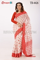 Picture of Cotton Jamdani Saree - TB-4426