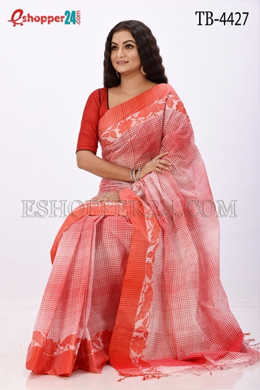 Picture of Pure  Cotton Saree -TB-4427