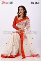 Picture of Moslin Jamdani Saree - TB-4428