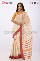 Picture of Pure  Cotton Saree -TB-4432