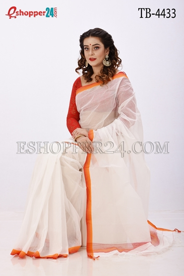 Picture of Pure  Cotton Saree -TB-4433