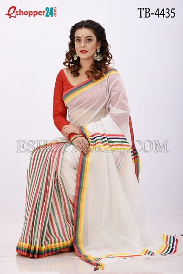 Picture of Half Silk Saree- TB-4435