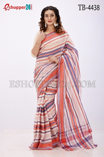 Picture of Cotton Anarkoli Saree -TB-4438
