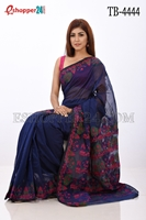 Picture of Half Silk Hand Work Saree -TB-4444