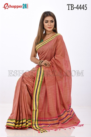 Picture of Jute Cotton Saree -TB-4445