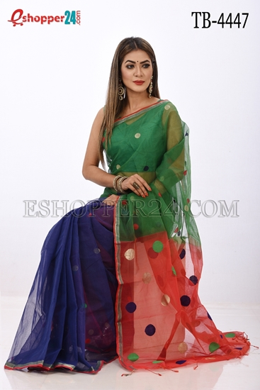 Picture of Resom Half Silk Saree- TB-4447