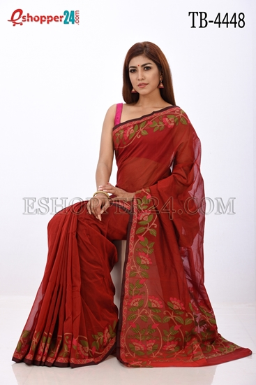 Picture of Gas Silk Saree - TB-4448