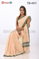Picture of Pure  Cotton Saree -TB-4451