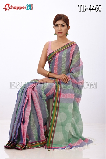 Picture of Gas Jal Chhap Saree- TB-4460