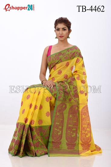 Picture of Cotton Jamdani Saree - TB-4462