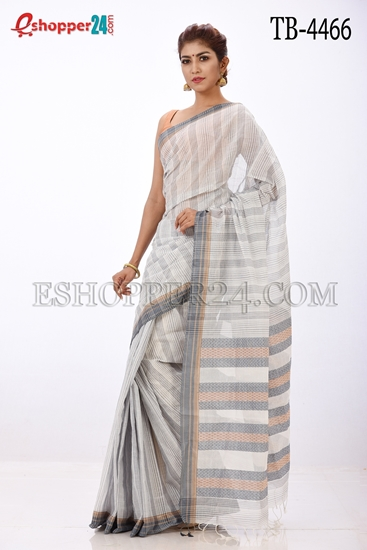 Picture of Cotton Jakard Saree - TB-4466