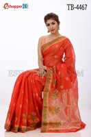 Picture of Half Silk Saree- TB-4467