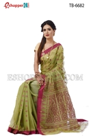 Picture of Half Silk Saree- TB-6682