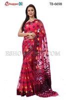 Picture of Soft Moslin Jamdani   Saree - TB-6698