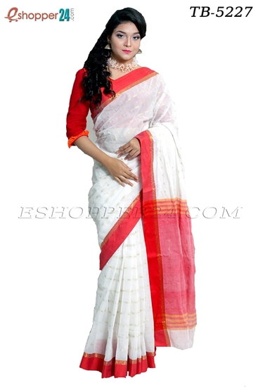 Picture of Pure  Cotton Saree -TB-5227