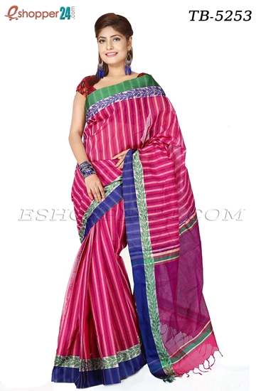 Picture of Pure  Cotton Saree -TB-5253