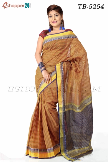 Picture of Pure  Cotton Saree -TB-5254
