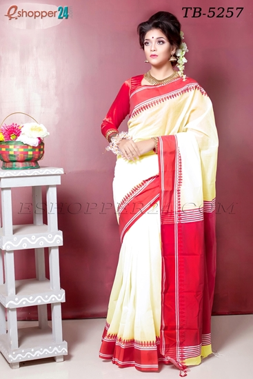 Picture of Half Silk Saree- TB-5257