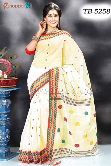 Picture of Half Silk Saree- TB-5258