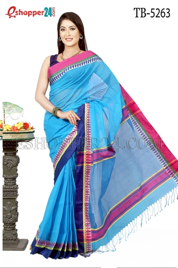 Picture of Pure  Cotton Saree - TB-5263