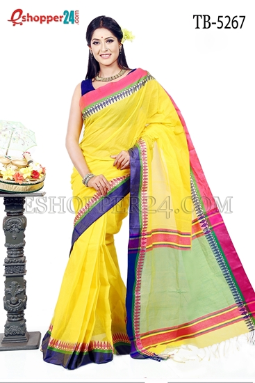 Picture of Pure  Cotton Saree -TB-5267