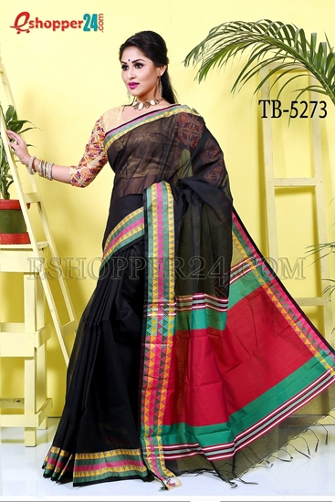 Picture of Half Silk Saree- TB-5273