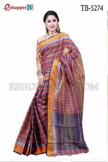 Picture of Pure  Cotton Saree -TB-5274