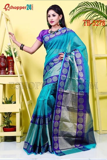 Picture of Half Silk Saree- TB-5278