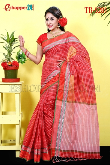 Picture of Pure  Cotton Saree -TB-5281