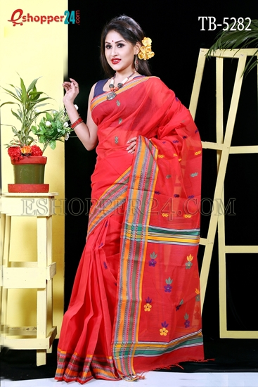 Picture of Half Silk Saree- TB-5282