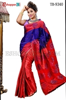 Picture of Soft Silk Saree- TB-9340