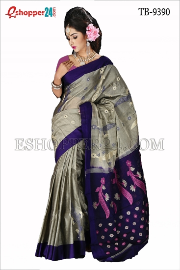 Picture of Soft  Cotton Saree TB-9390