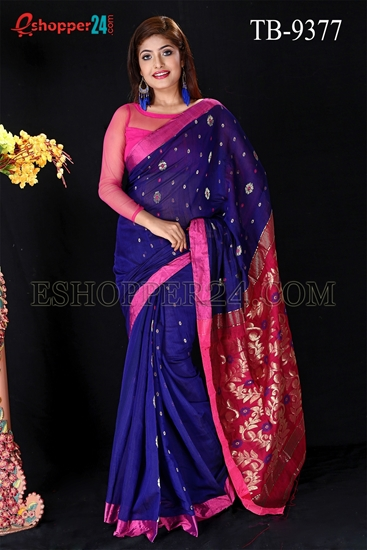 Picture of Half Silk Saree- TB-9377