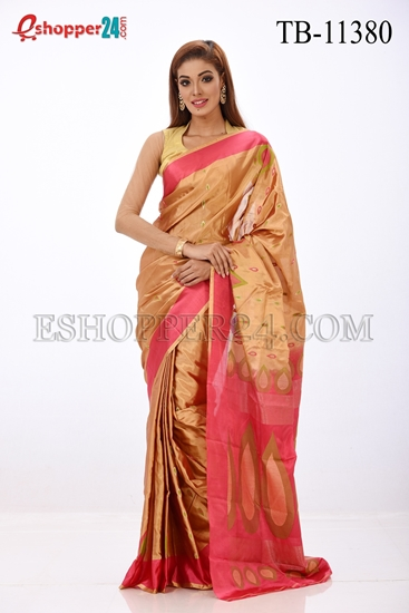 Picture of Soft Silk Saree- TB-11380
