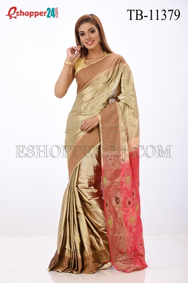 Picture of Pure Silk Saree- TB-11379