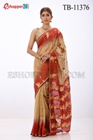 Picture of Gas Jamdani Saree - TB-11376