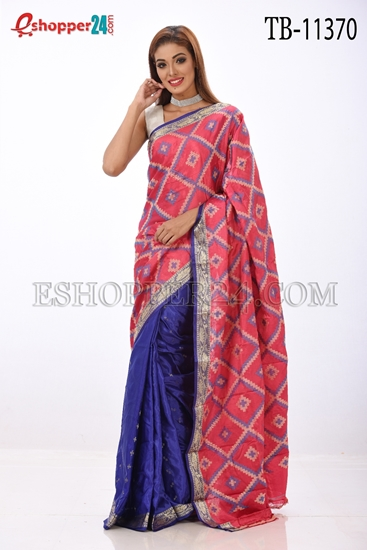 Picture of Soft Silk Saree- TB-11370