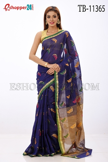 Picture of Half Silk Saree- TB-11365